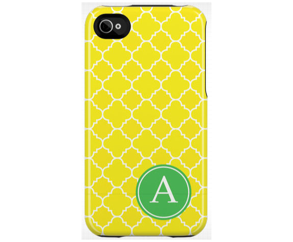 Quatrefoil iPhone/iPod Touch Case