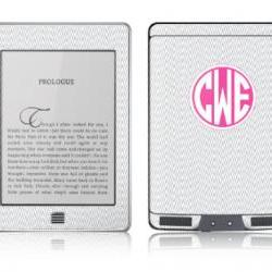 Ikat Chevron eReader Skin - Nook or Kindle